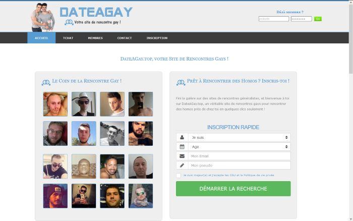Dateagay.top - Site de Rencontres gays