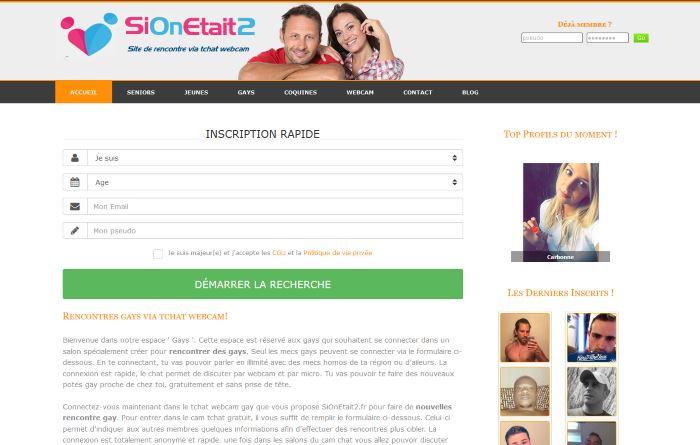 SiOnetait2.fr - Site de Rencontre Gay Amoureuse et Sérieuse